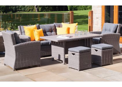 Pacific Lifestyle Barbados Adjustable Casual Garden Set