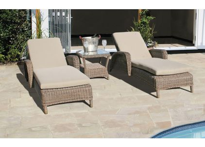 Bridgman Marlow Sun Lounger Set