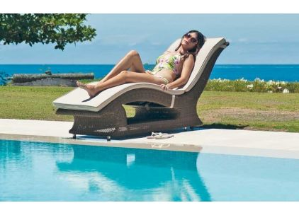 Alexander Rose San Marino Raised Sun Lounger