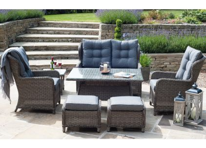 Pacific Lifestyle St Kitts Casual Dining Set