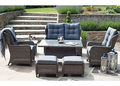 Pacific Lifestyle Saint Kitts Garden Casual Dining Set