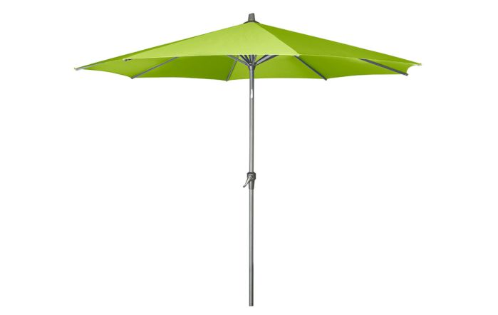 Pacific Lifestyle Riva Platinum Parasol -  Apple Green 3 Metre
