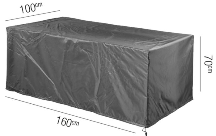 Table AeroCover W160 x D100 x 70cm High