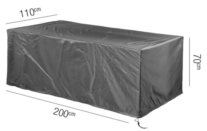 Table AeroCover W200 x D110 x 70cm High