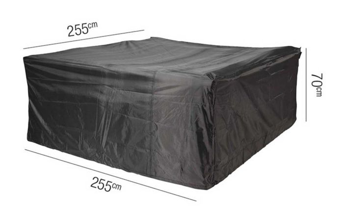 Lounge Square Set AeroCover W255 x 70cm High