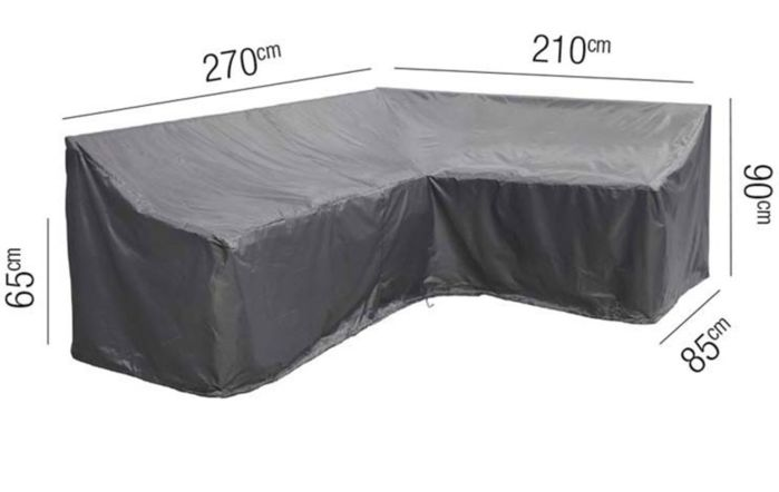 Lounge Set AeroCover Long Left 270 x 210 x 85 x 65 x 90cm
