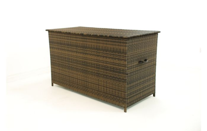 Hawaii Outdoor Garden Rattan Brown Large Storage Box