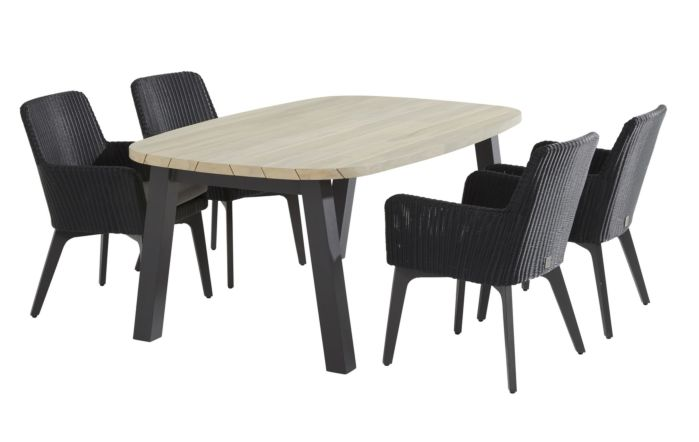 4 Seasons Outdoor Derby Lisboa Four/Six Seater Dining set