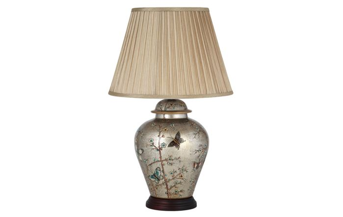 Pacific Lifestyle Patterned Ceramic Table Lamp