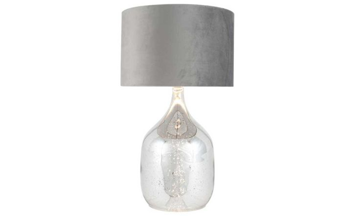 Pacific Lifestyle Mercurial Glass Dual Light Table Lamp