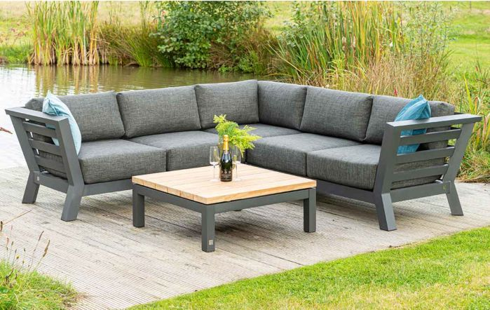 4 Seasons Outdoor Meteoro Small Corner Garden Sofa Set