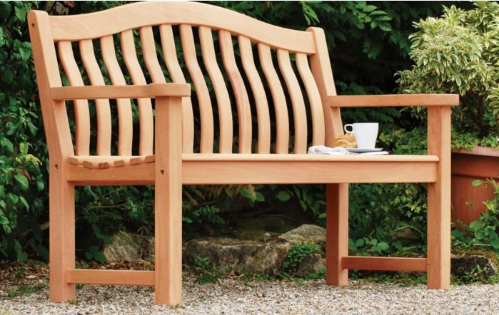 Alexander Rose Mahogany Turnberry Bench 5'