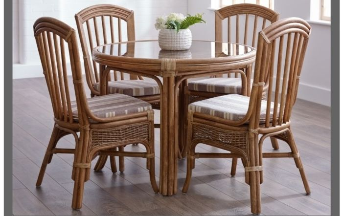 Cane Industries Bari Cane Rattan Wicker Dining Range