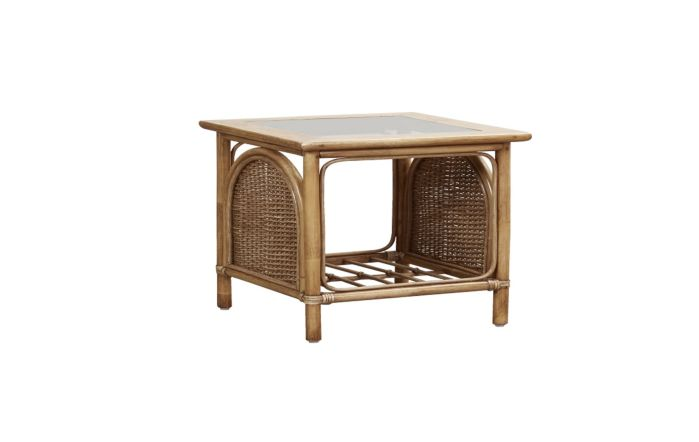 Cane Industries Bari Cane Rattan Side Table