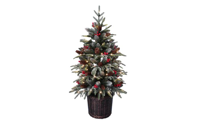 Kensington Pre-lit 150cm Potted Artificial Christmas Tree