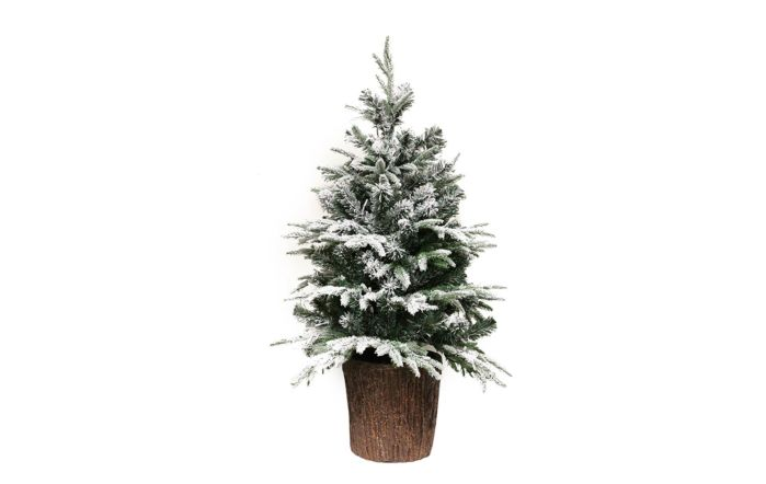 Park Lane Pre-lit 110cm Potted Spruce Artificial Christmas Tree