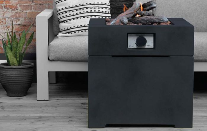 Pacific Lifestyle Cosibrixx 60 Anthracite Fire Pit