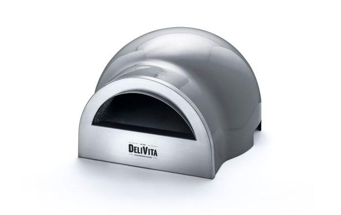 DeliVita Wood Fired Oven-Hale Grey-Oven Only