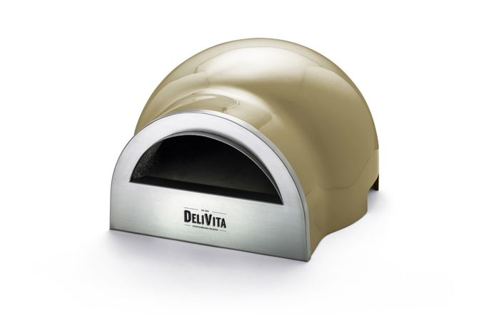 DeliVita Wood Fired Oven-Olive Green-Oven Only