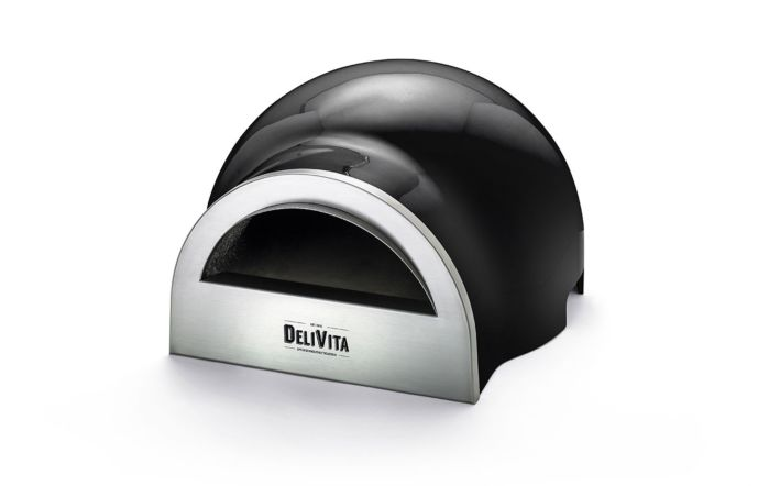 DeliVita Wood Fired Oven-Very Black-Oven Only