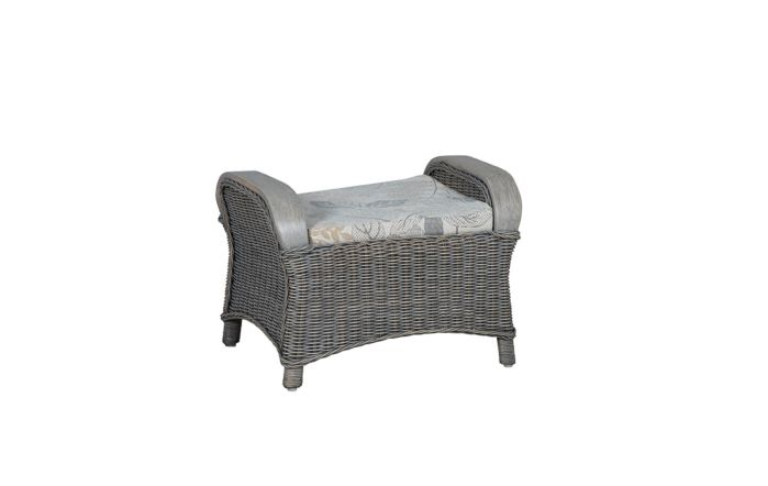 Cane Industries Eden Cane Rattan Wicker Footstool