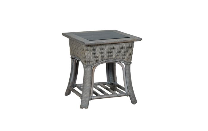 Cane Industries Eden Cane Rattan Wicker Side Table