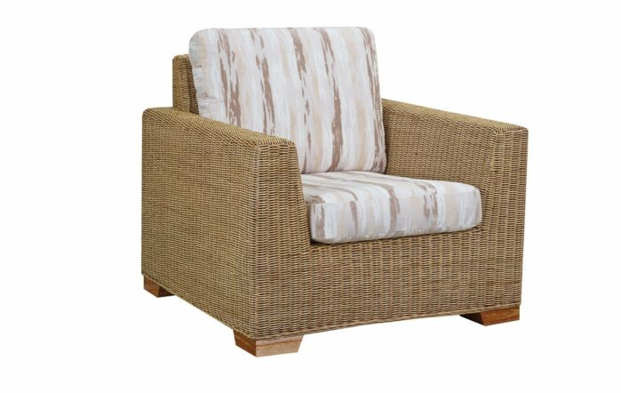 Cane Industries Luca Cane Rattan Wicker Armchair