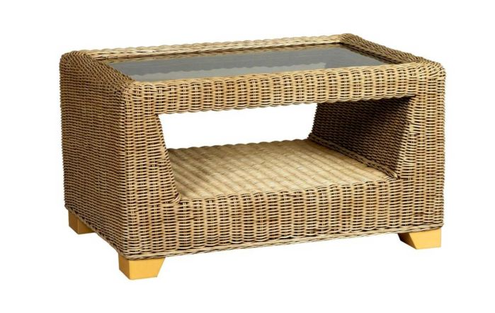 Cane Industries Luca Cane Rattan Wicker Coffee Table