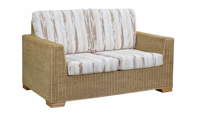 Cane Industries Luca Cane Rattan Wicker Two Seat Sofa