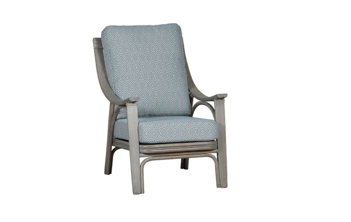 Cane Industries Lupo Cane Rattan Armchair