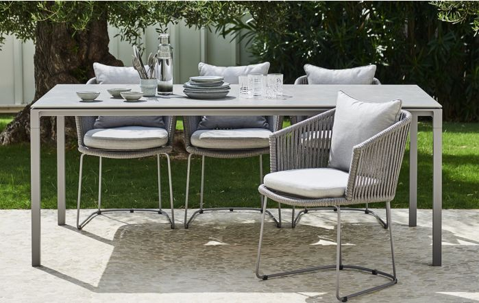 Cane-Line Moments & Pure Six Seater Dining Set