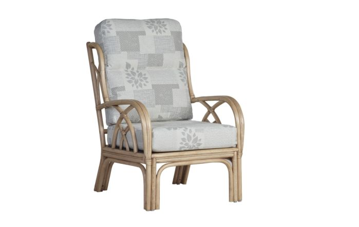 Cane Industries Padova Cane Rattan Wicker Armchair