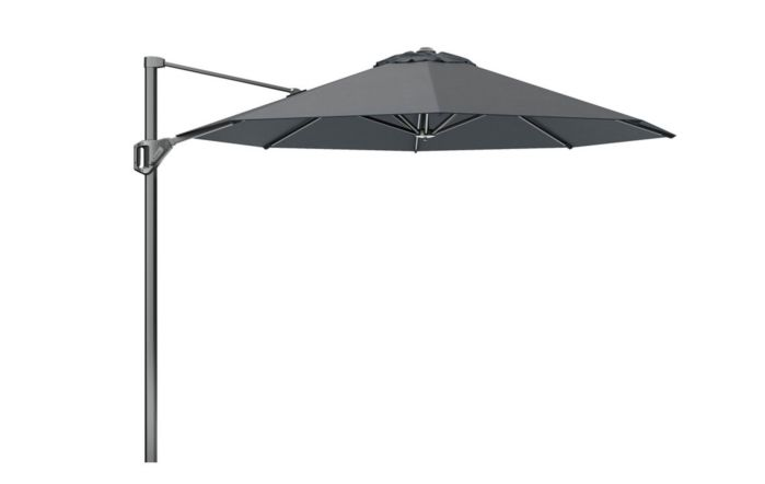 Pacific Lifestyle Voyager T1 3m Round Anthracite Parasol with 90kg Granite Base