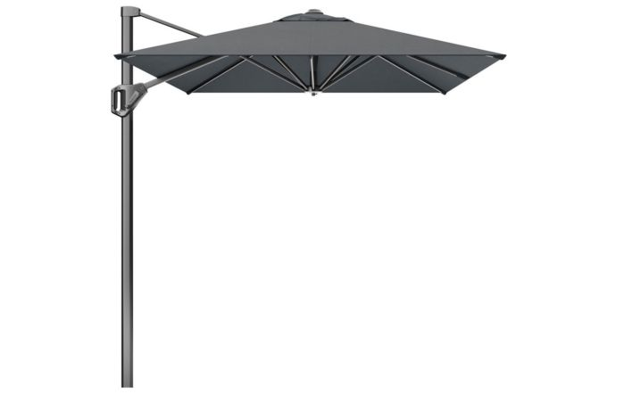 Pacific Lifestyle Voyager T1 3m x 2m Oblong Anthracite Parasol with 90kg Granite Base