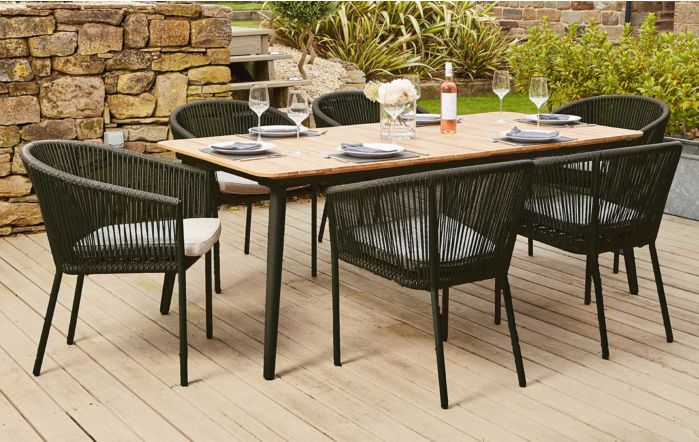 Pacific Lifestyle Stackable Reims Dining Set