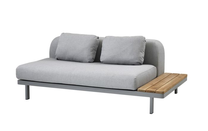 Cane-Line Space 2-Seater Modular Sofa -Air Touch-Teak
