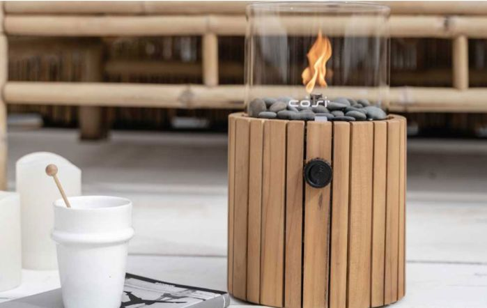 Pacific Lifestyle Cosiscoop Timber Fire Lantern