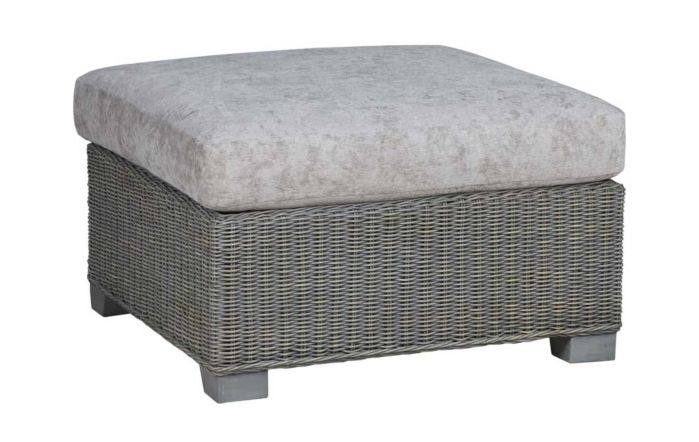 Cane Industries Trento Cane Rattan Wicker Grand Footstool
