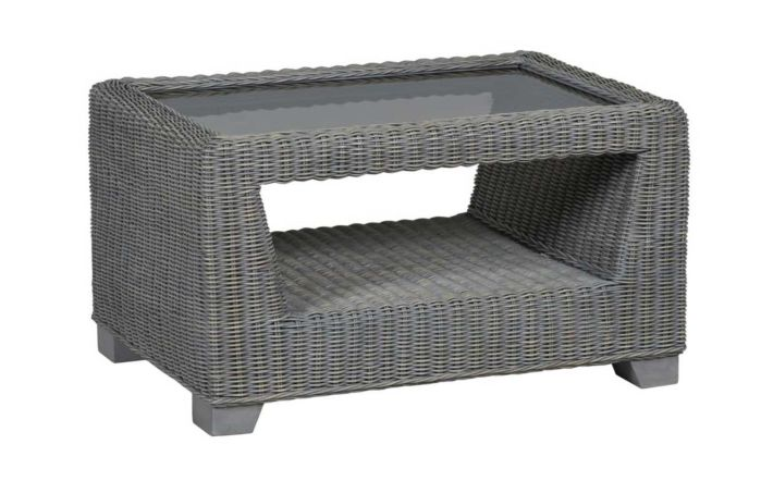 Cane Industries Trento Cane Rattan Wicker Coffee Table