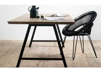 Curly Rattan Chair