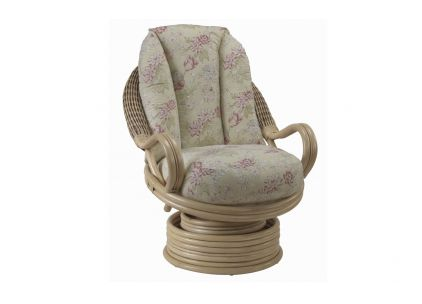Deluxe Swivel Rocker Natural