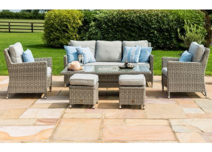 Oxford Sofa Dining Set - Dining Height