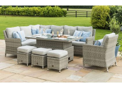 Oxford Corner Dining Set - Coffee Table Height