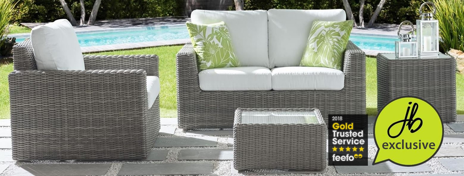 Upholstered Garden Furniture